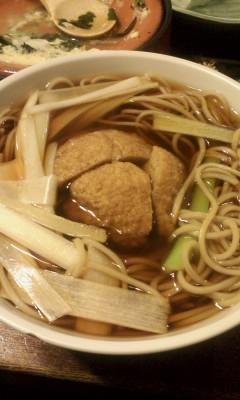 コロッケ蕎麦